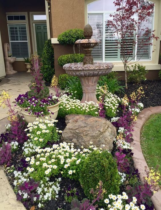 backyard flowers ideas 8