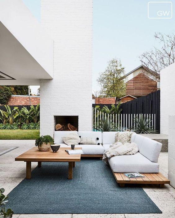 Backyard Furniture Ideas: Cozy Attic Style