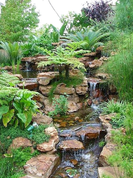 backyard water feature ideas 10