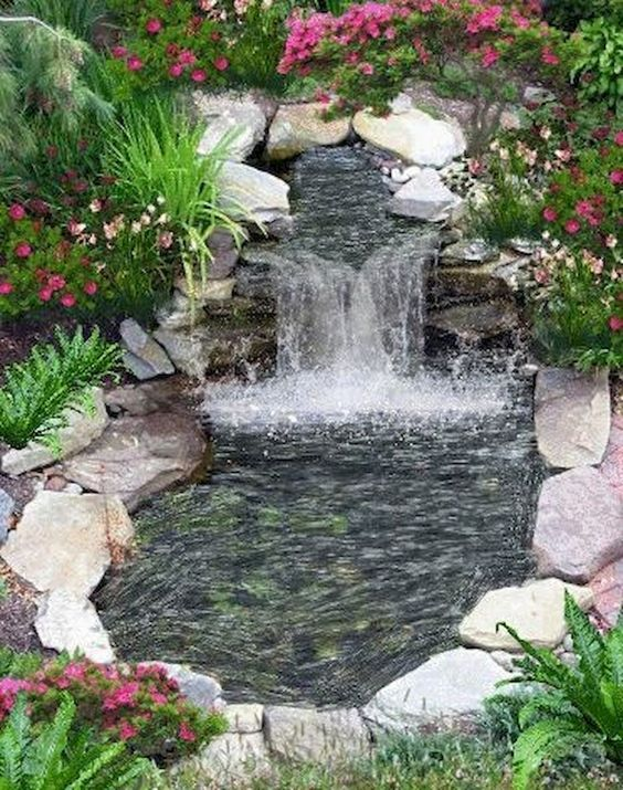 backyard water feature ideas 13