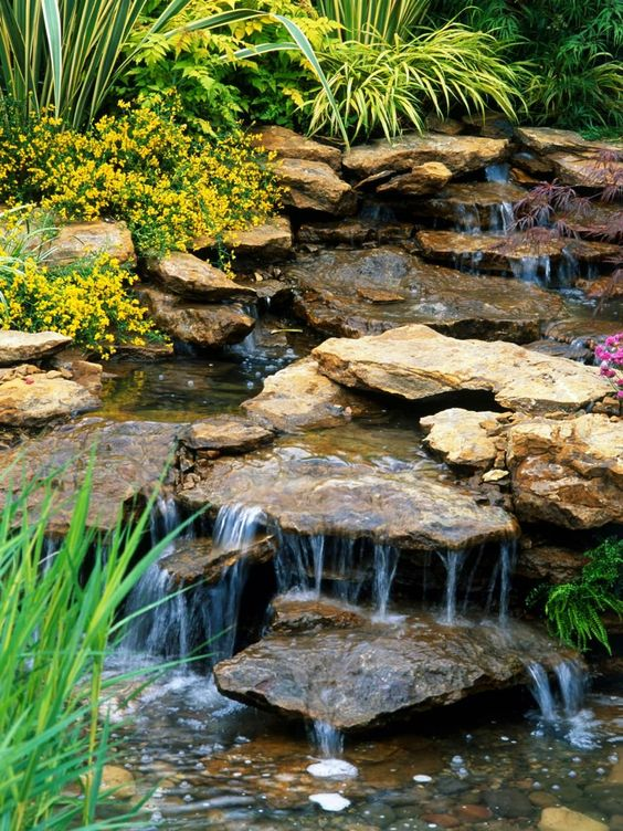 backyard water feature ideas 14