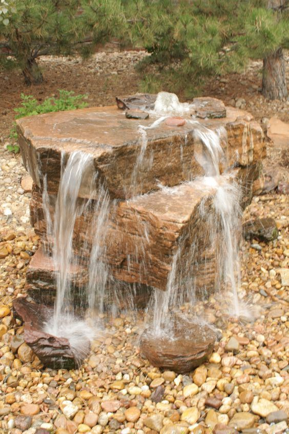 backyard water feature ideas 17