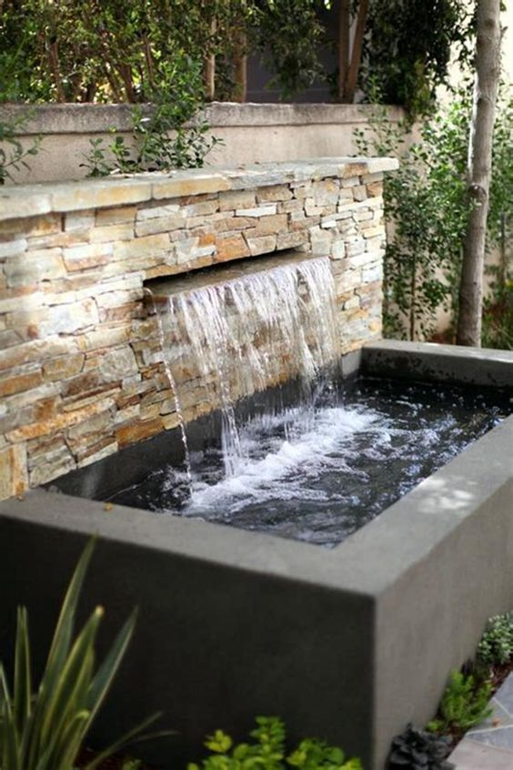backyard water feature ideas 19