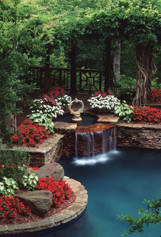 Backyard Water Feature Ideas: Make A Perfect Combination
