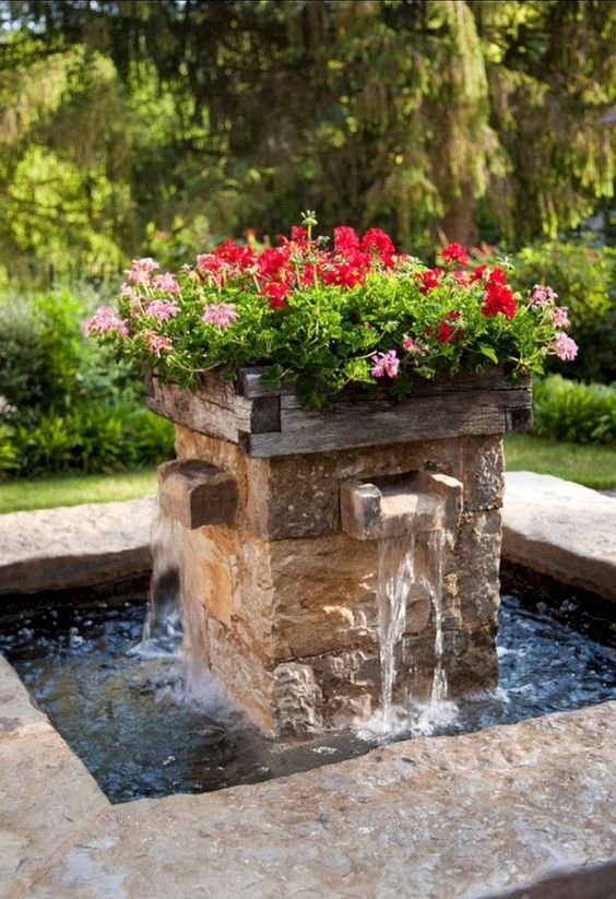 backyard water feature ideas 23