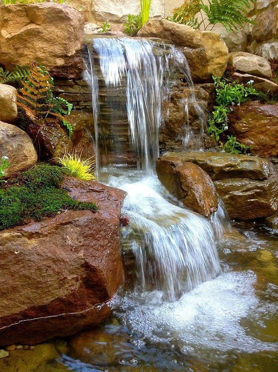 backyard water feature ideas 24