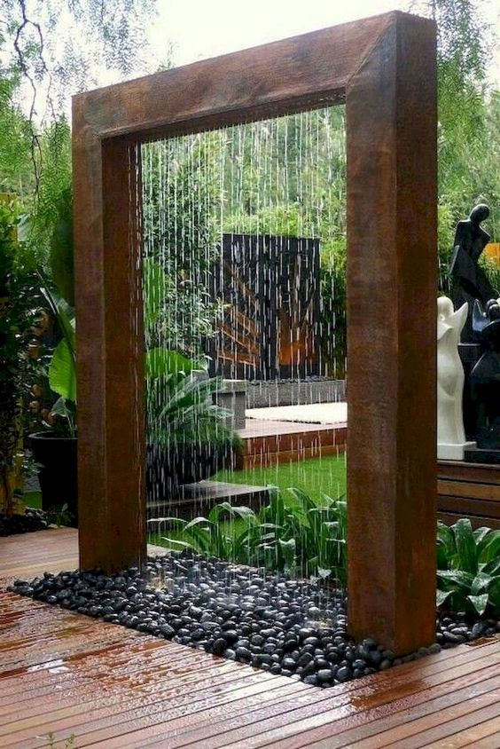 backyard water feature ideas 25