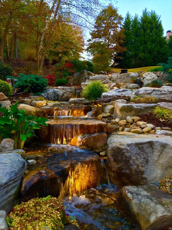Backyard Water Feature Ideas: Breathtaking View