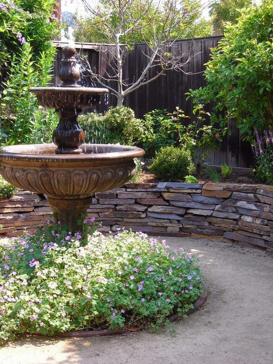 Backyard Water Feature Ideas: The Classic Fountain