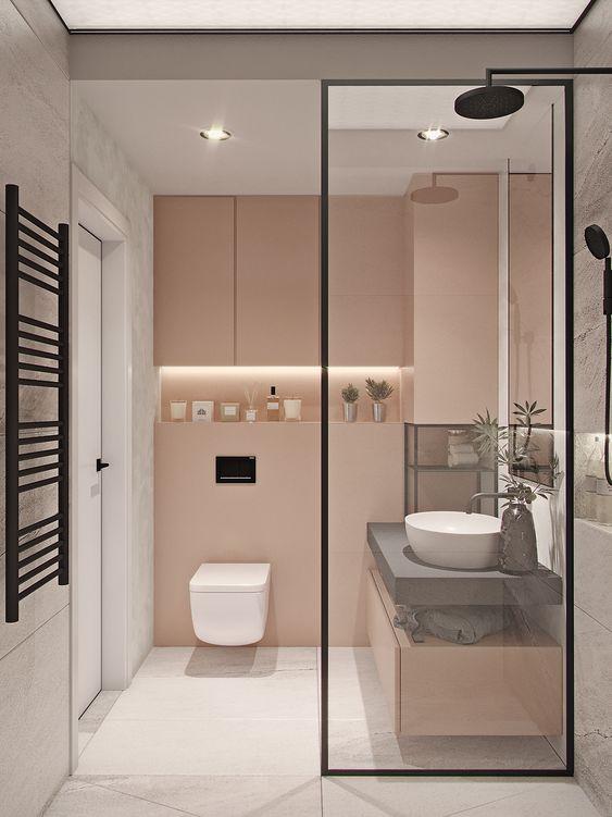 Bathroom Lighting Ideas: Simply Minimum