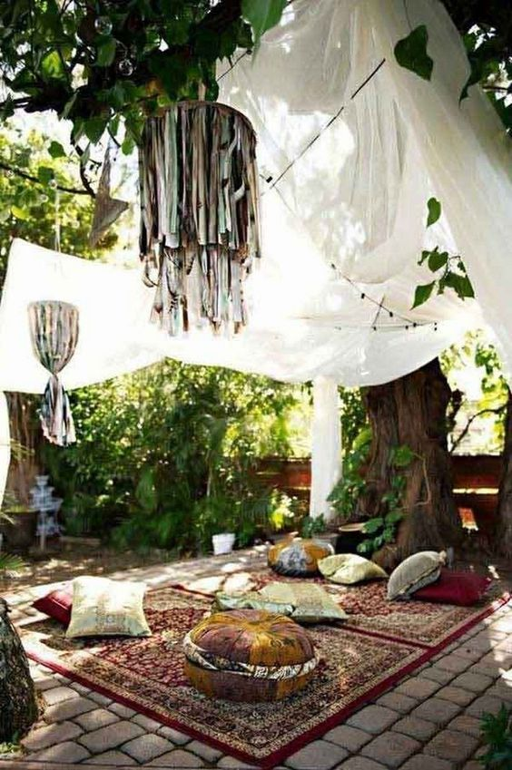 boho backyard ideas 10