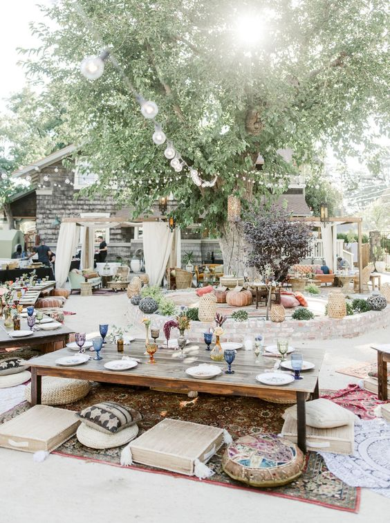 boho backyard ideas 14