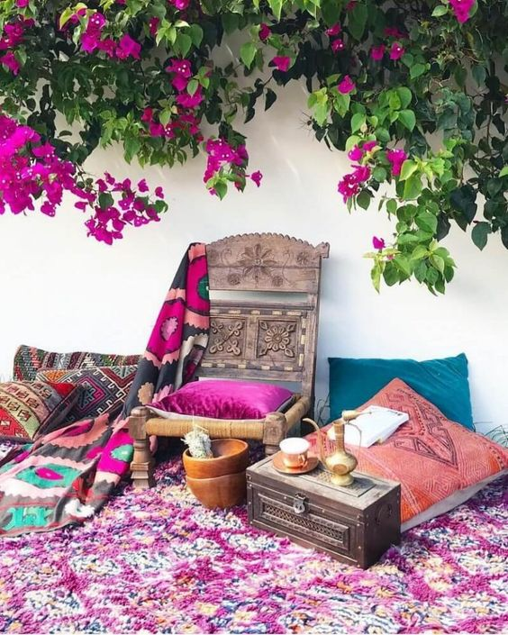 boho backyard ideas 15