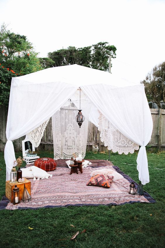 boho backyard ideas 17