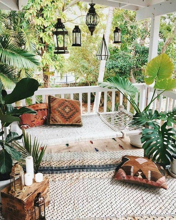 boho backyard ideas 19