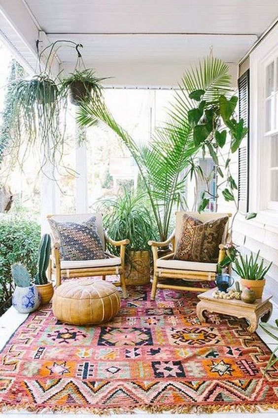 Boho Backyard Ideas: Playful Vibe