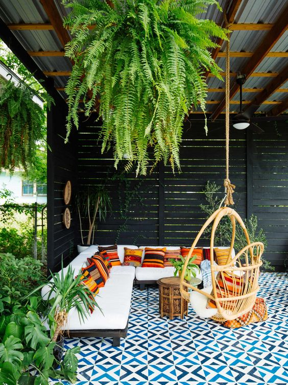 boho backyard ideas 20