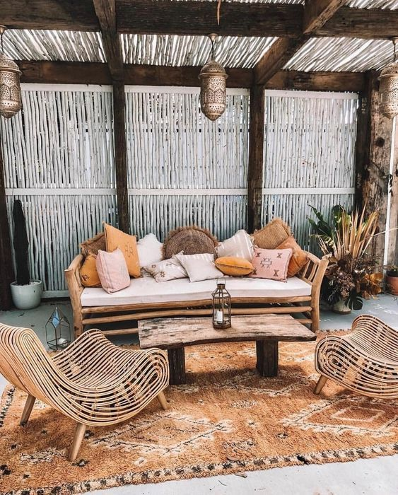 boho backyard ideas 22