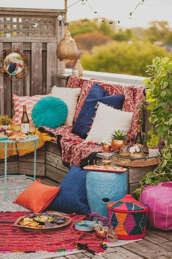 boho backyard ideas 24