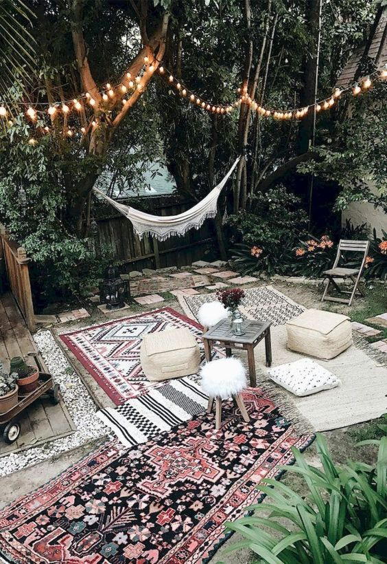Boho Backyard Ideas: Enjoy The Summer Breeze