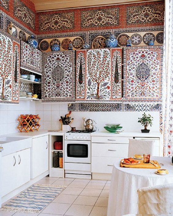 boho kitchen ideas 16