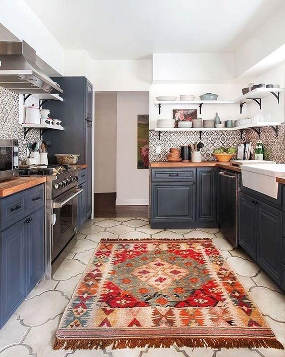 boho kitchen ideas 20