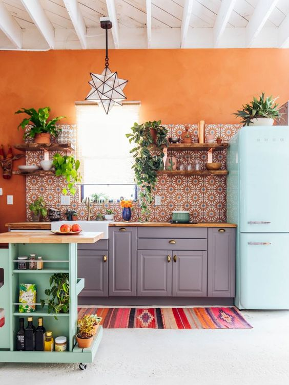 Boho Kitchen Ideas: Make It Bright