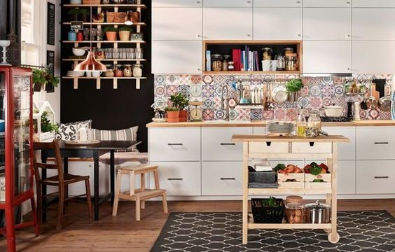 boho kitchen ideas feature