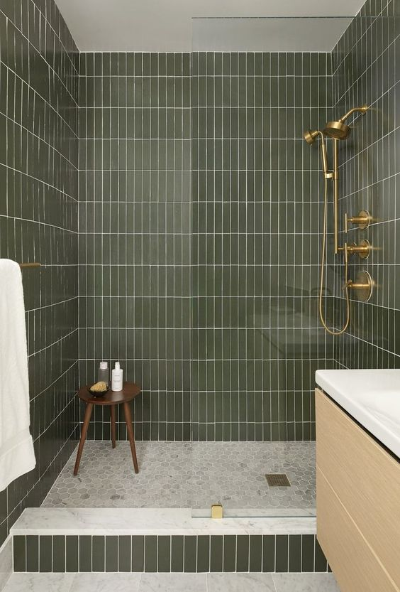 green bathroom ideas 15