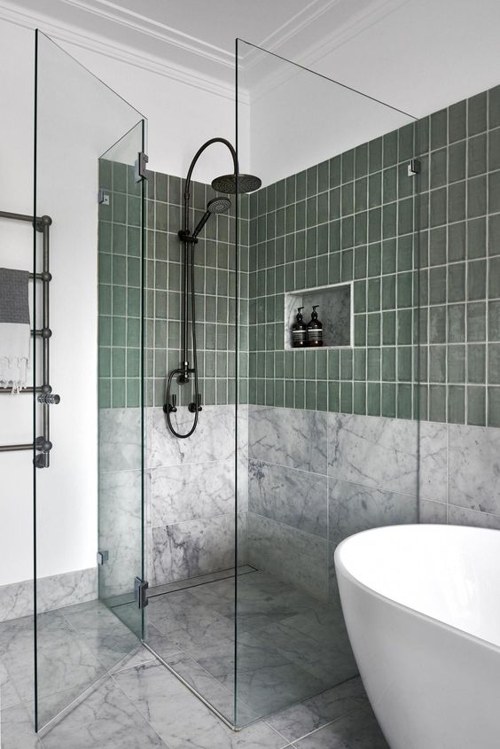 green bathroom ideas 16