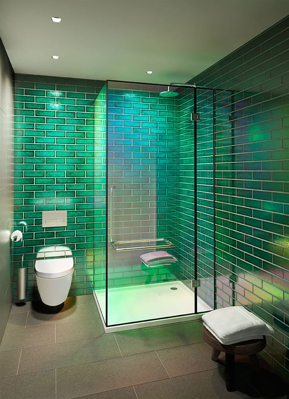 green bathroom ideas 20