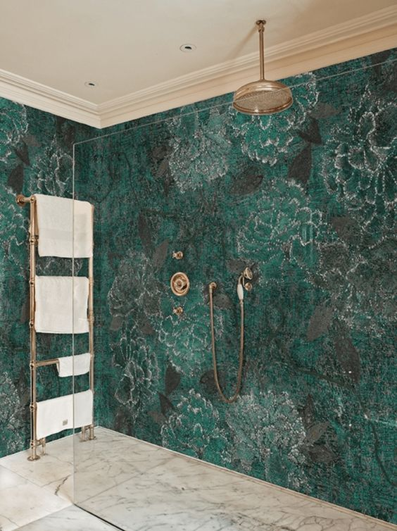 Green Bathroom Ideas: Astonishing Background