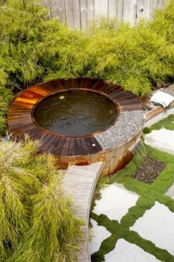 hot tub backyard 12