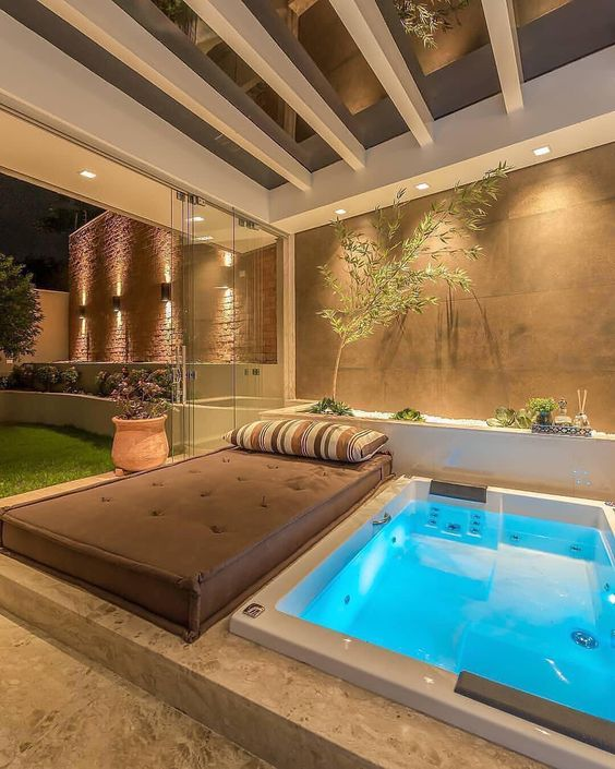 Hot Tub Ideas: Create More Private Space