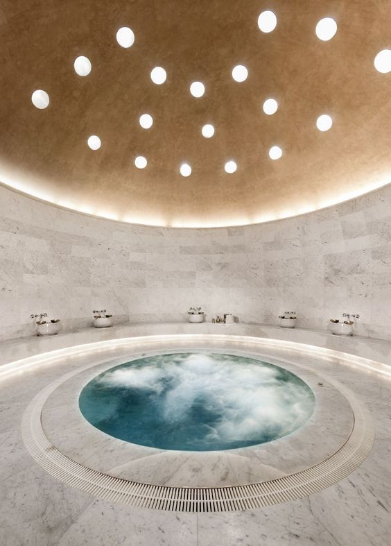 Inground Hot Tub: Luxurious and Dreamy Tub