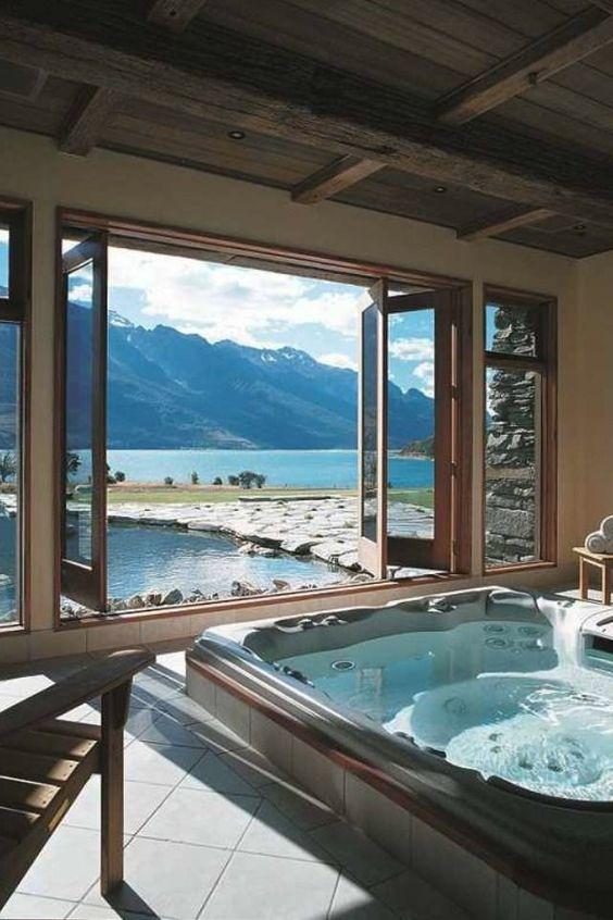 Luxury Hot Tub: Make a Big Window