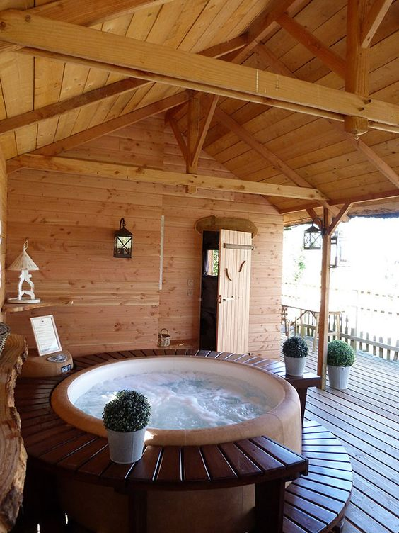 Round Hot Tub: Create A Special Spot
