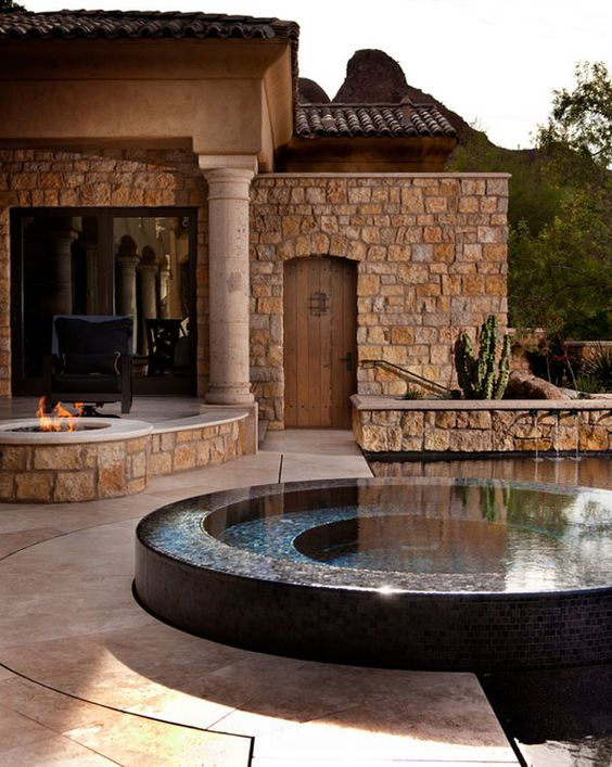 Round Hot Tub: Modern and Stunning