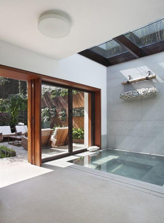 Small Hot Tub: Freshly Bright