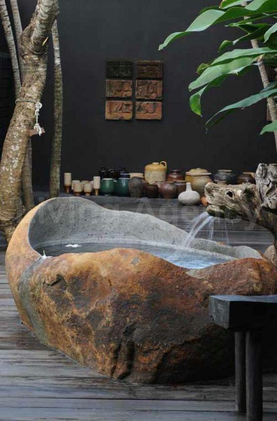 stone hot tub 10