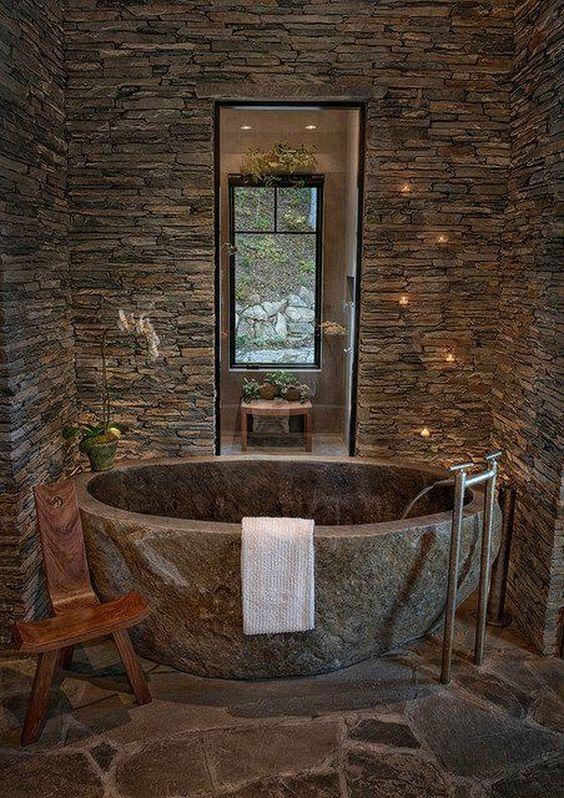 stone hot tub 11