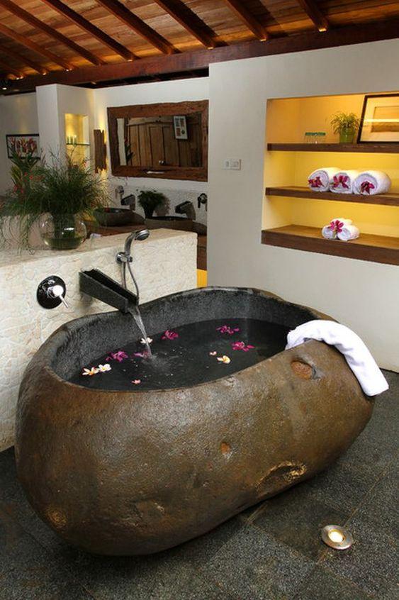 stone hot tub 12