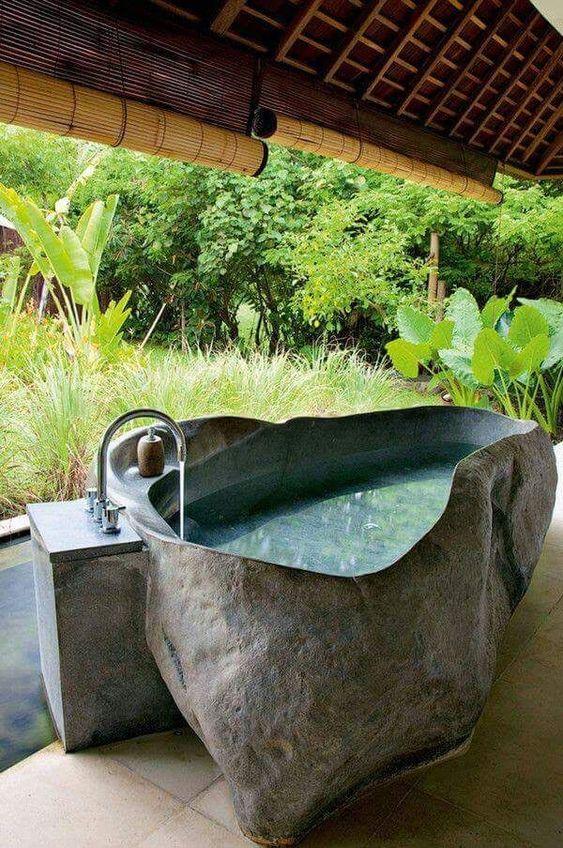 stone hot tub 14