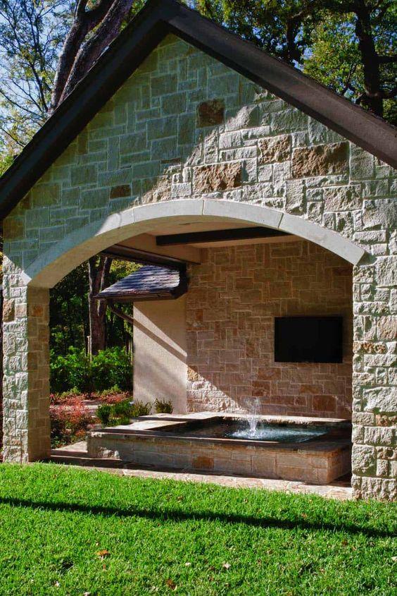 stone hot tub 17