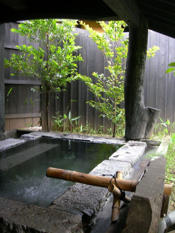 Stone Hot Tub: Back To Nature