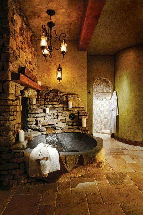 stone hot tub 4