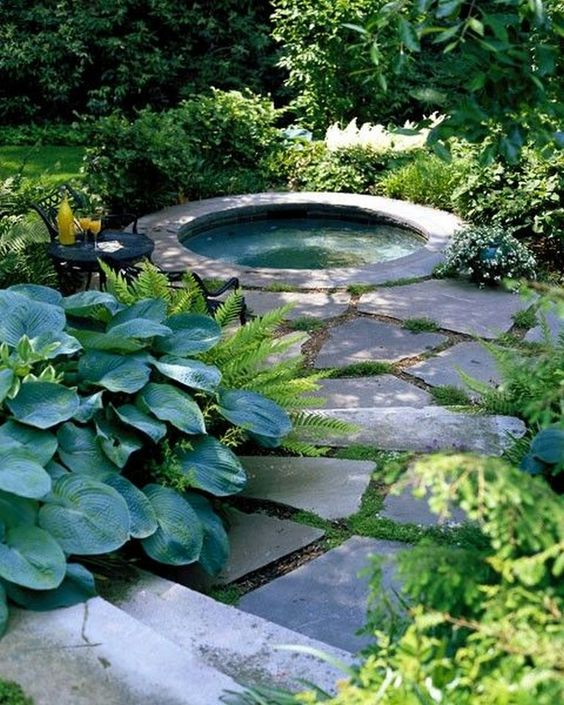 stone hot tub 5