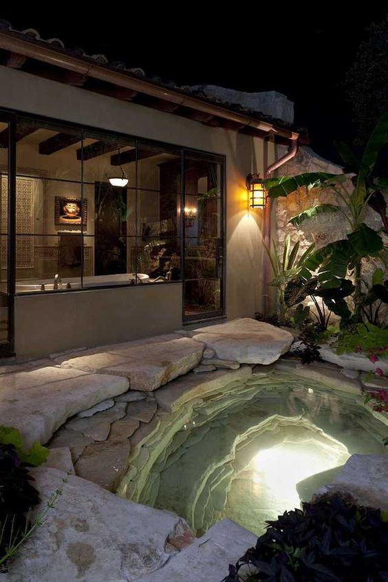 stone hot tub 6