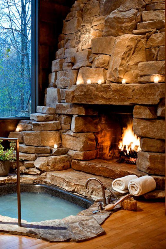 stone hot tub 7
