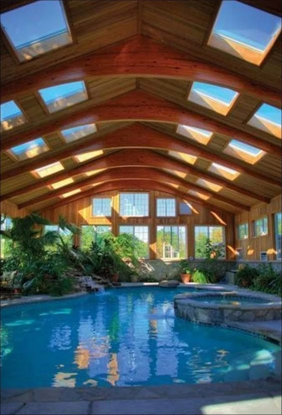 swimming pool indoor ideas 15